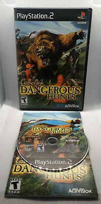 Cabela's Dangerous Hunts - Complete CIB - Playstation 2 PS2