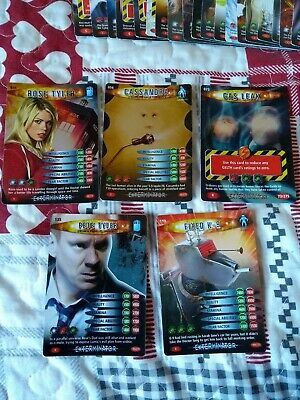 50 Doctor Who Trading Cards 2006 - 2007