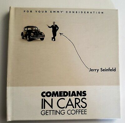 COMEDIANS IN CARS GETTING COFFEE Jerry Seinfeld 2019 FYC Emmy DVD - 4 Episodes