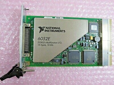 National Instruments 6052E, 186408E-0 Multifunction I/O PXI Card Assembly