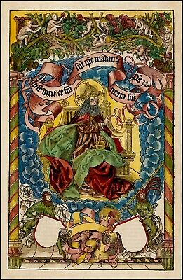 Nuremberg-Chronicle Re-production New