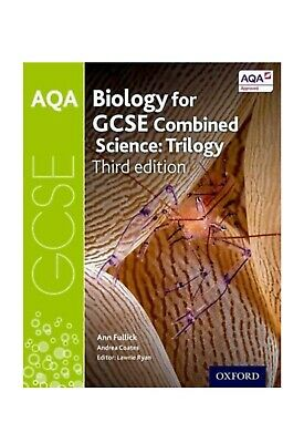 AQA GCSE 9-1 Combined Science: Biology by Ann Fullick NEW Worth £20