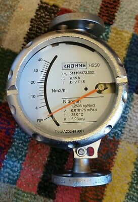 Krohne H250.RR.M40.ESK - Nitrogen Flow Indicator and Transmitter