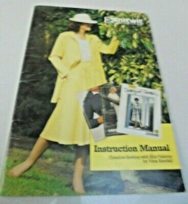 KNITWIT Instruction Manual Creative Sewing Vera Randall Knit wit Manual Book