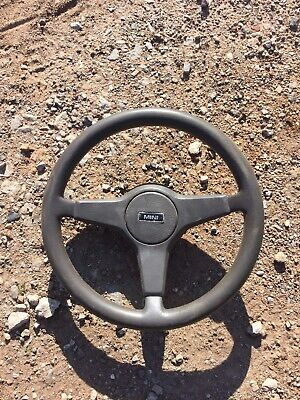 Classic Mini Mayfair Grey Steering Wheel Off 1992  Mini