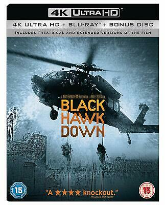 New Sealed 4K Uhd Black Hawk Down Special Extended Edition Ultra Hd Movie Bluray