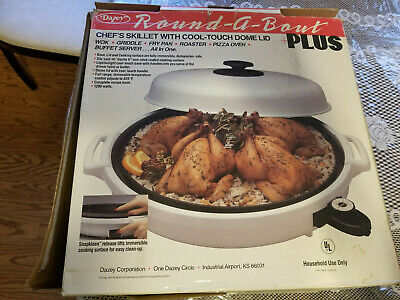 New Dazey Round-A-Bout Electric Skillet