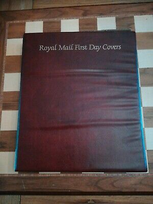 Empty Royal Mail First Day Covers Album Binder holds 60 Covers 15 Sleeves