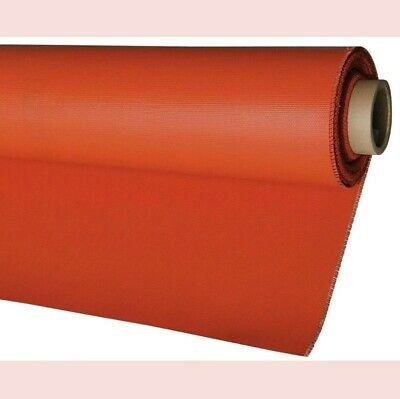 *NEW* Hi Temp Silicone Coated Fiberglass Welding/Fire Blanket Curtain 32oz 4'x8'