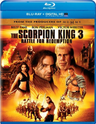 BAUTISTA,DAVE-SCORPION KING 3:BATTLE FOR REDEMPTION (US IMPORT) Blu-Ray NEW