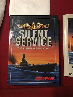 Silent Service The Submarine Simulation PC Game MicroProse