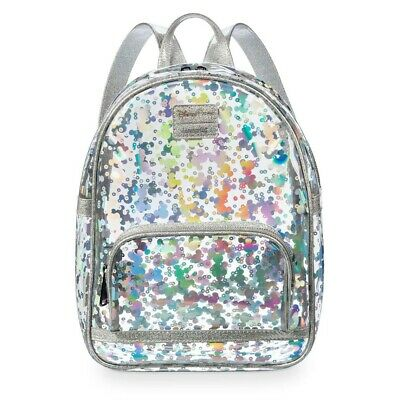Loungefly clear backpack - Disney Parks - Mickey Mouse - Holographic