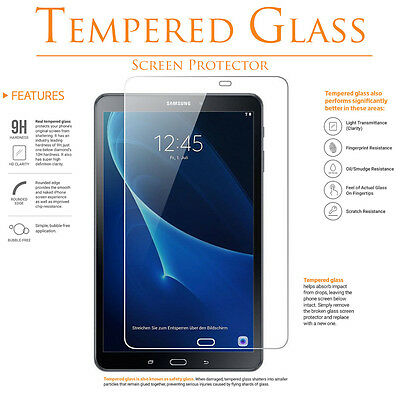 2-Pack Tempered Glass Screen Protector For Samsung Galaxy Tab A 10.1 T580 T585
