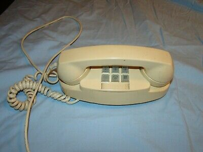 Vintage Original 1969 Telephone Princess Western Electric Bell System Touch Tone