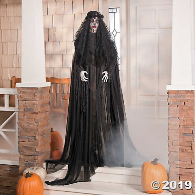 Mourning Glory Creepy Scary Halloween Decoration Haunted House Prop