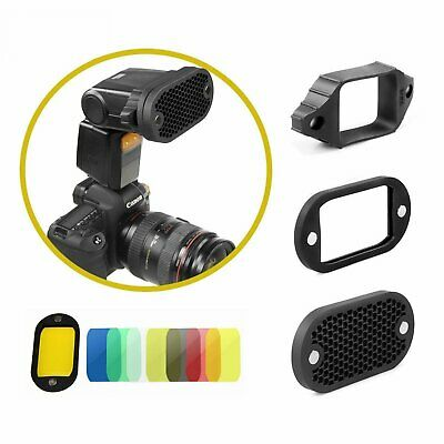 Selens Magnetic Color Filter Honeycomb Grid Cover For Yongnuo Canon Speedlite