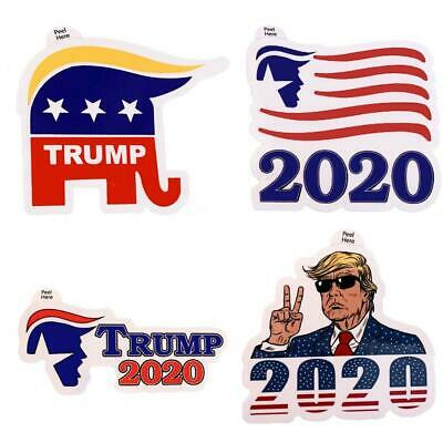 4pcs President Donald Trump USA 2020 Decal Sticker Car Window Laptop Bumper MAGA
