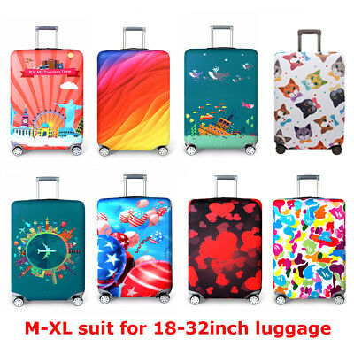 Protective Luggage Suitcase Dust Cover Case Protector Elastic Anti Scratch 18-32