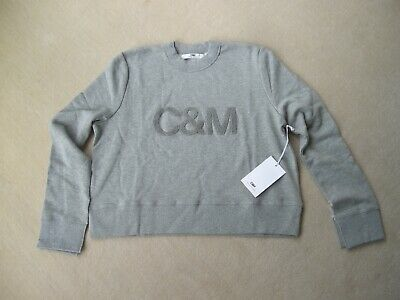 C&M Camilla and Marc size 12 (fits 12 14) Bianca Crew Sweat 100% cotton