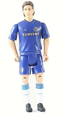 Chelsea Fernando Torres 7in Soccer Football Player Action Figure OFFICIAL