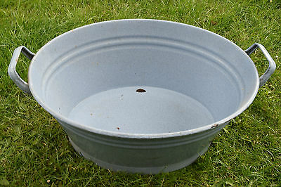 Old Oval Aschwanne Email - Planter (241-16)