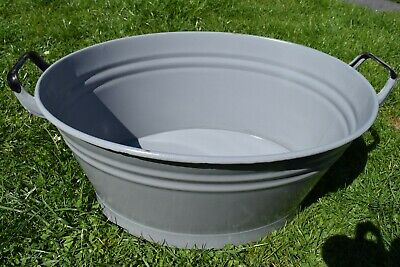 Old Oval Aschwanne Email - Planter (78-19)