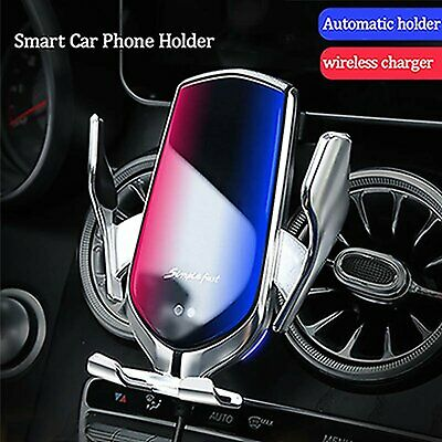 Aotomatic Clip Phone Holder Wireless Charger for Mercedes Benz C E GLA CLA GLC