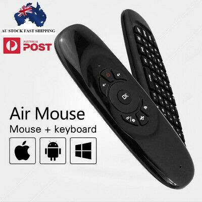 New Wireless Remote Control Air Mouse Keyboard For Android TV Box Kodi 2.4G