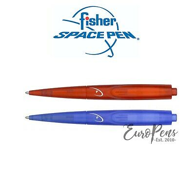 Fisher Space Pen Wedge Ballpoint Pen - Space Tec Series - Blue or Red - UK