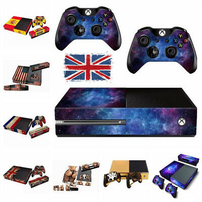 For Xbox One Console Controllers Decal Skin Stickers Protector Dust Cover Case