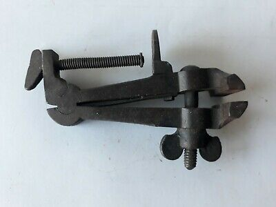 Vintage Small JEWELLERS Blacksmith Vise Old Antique Clamp Made in Germany Boker