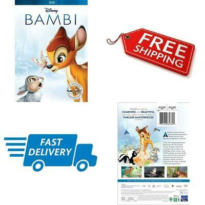 Disney Bambi DVD Signature Collection 2017 Edition Animated Color Dolby English