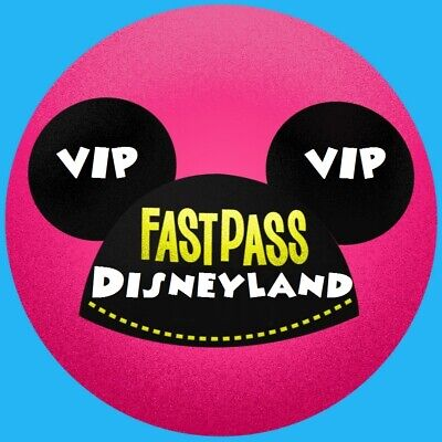 10 Fastpass Vip Tickets Disneyland Paris