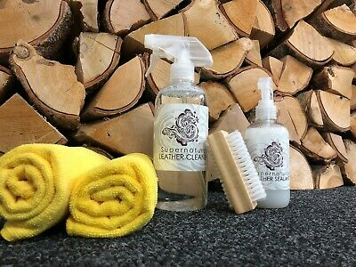 Dodo Juice Supernatural Leather Cleaner & Sealant + Microfibres & Brush Kit