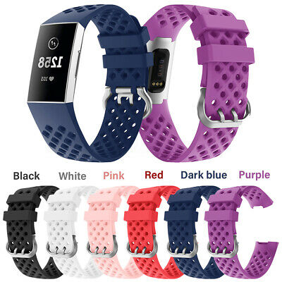 For Fitbit Charge 3 Sports Replacement Watch Bands Bracelet Wrist Strap