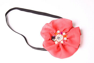 Brown Synthetic Faux Hair Scrunchie for Buns/&Ponytails S390