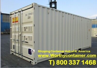 20' New Shipping Container / 20ft One Trip Container in Edmonton, AB,Canada