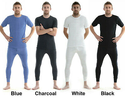 New Mens Thermal Long Johns T-shirt Top Vest Underwear Bottoms Trousers SkiWear