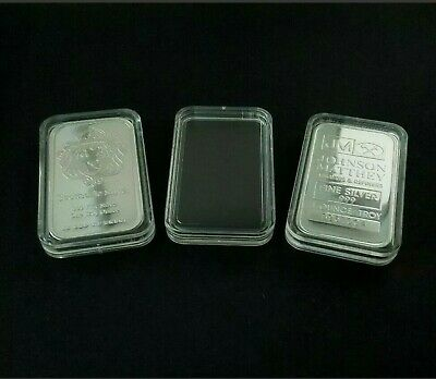 1 oz SILVER bar capusle FOR Scottsdale/Johnson Matthey/MANY MORE! (Brand New)
