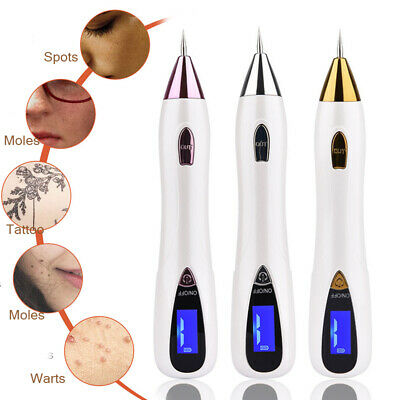 LCD Laser Freckle Mole Warts Dot Tattoo Eraser Electric Removal Pen For Age Spot