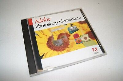 Adobe Photoshop Elements 2.0 for Windows MAC with Serial Number