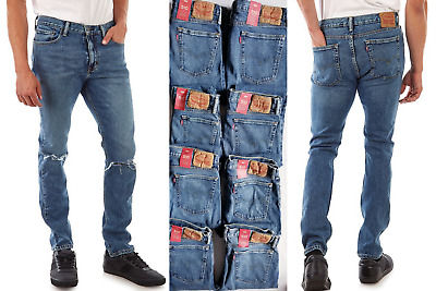 Levis 510 Skinny Fit Stretch Mens Jeans Sizes:26/28/29/30/31/32/33/34 #055100794