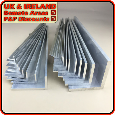 Aluminium Angle ║ DISCOUNTED due to defect ║ 10mm - 150mm ║ 1mm - 12mm