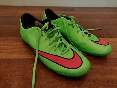 quality design c8050 32105 NIKE MERCURIAL VICTORY V IC Indoor Soccer Shoes, Green, Mens Size 9