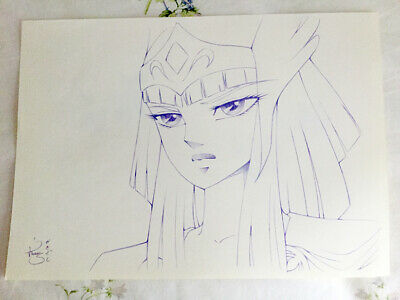 SAINT SEIYA dessin original fan art by KINU SEKIGUSHI Les chevaliers du Zodiaque