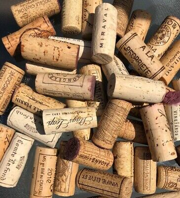 300 Red & White Wine Corks No Synthetic or Champagne - Great Variety -