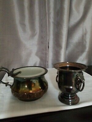 Vintage Antique  Silver Quadruple Plate and viners of sheffield silver plated UK
