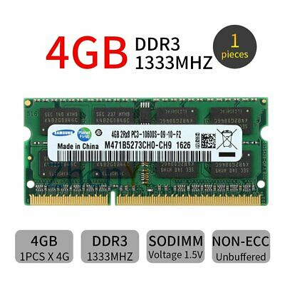 4GB Module Memory DDR3 PC3-10600 1333MHz for Acer Aspire One 756 AO756