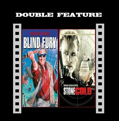 Blind Fury ( Rutger Hauer ) / Stone Cold ( Brian Bosworth ) R2 Compatible DVD