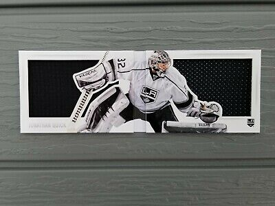 2013-14 Panini Playbook Split Decisions Jonathan Quick SSP (75 or less)
